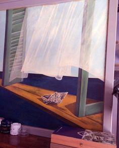 #Καλημέρα απ΄το Αρόδου  #Ψυρρη Curtains, Home Decor, Blinds, Decoration Home, Room Decor, Draping, Home Interior Design, Picture Window Treatments, Home Decoration