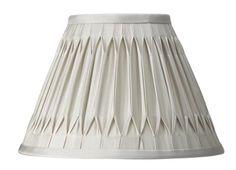 Fenn Pinched Pleat Silk Shade - Marble