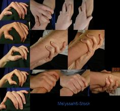 Hand Pose - Gripping - Shoulder/Arm by ~Melyssah6-Stock on deviantART, Hand Poses References ,Inspiration and Resources on How to Draw Hands, Hand Poses Studies , Pose References @ CAPI ::: Create Art Portfolio Ideas for Art Students at www.milliande.com  , How to Draw Hands , Hand Positions