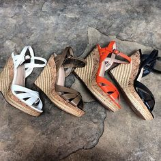 Wedge weather in March! #coloradoweather #shoes #spring #charlesdavid | Content shared via nordstrom Inspiration Gallery