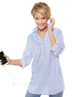 Blusen kaufen im Online Shop von WITT Weiden Shops, Button Downs, Women, Fashion, Shopping, Jackets, Moda, Tents, Women's