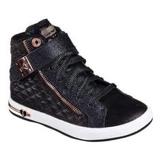 Girls' Skechers Shoutouts Quilted Crush High Top /White