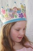 Floral Fairy Waldorf Crown by SusannaW on Etsy, $110.00