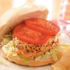 Honey-Mustard Chicken Sandwiches Recipe
