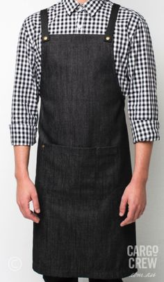 The Barkly bib apron is an all-rounder and a versatile addition to our denim apron range. More at http://cargocrew.com.au