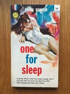One for Sleep - Bonham, Frank  Gold Medal, First impression of this Gold Medal paperback edition from 1961 in excellent condition, please see pics, PayPal accepted, any questions please get in touch.