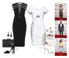 """""""2017 BAFTA LA Awards Season Tea Party - Part 1."""" by foreverforbiddenromancefashion ❤ liked on Polyvore featuring Jimmy Choo, Martin Grant, Alexander McQueen, Zuhair Murad, Dolce&Gabbana, Sophia Webster, J.Crew and Stephen Russell"""