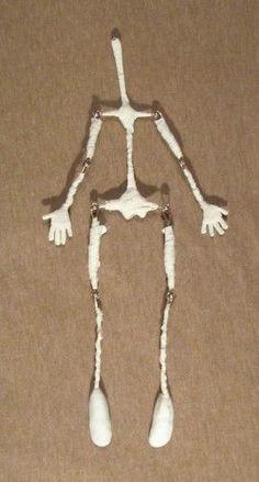 Сегодня будет МАСТЕР КЛАСС о том, как можно создать кукольное тельце.… - Куклы Метелкиной Наталии