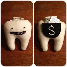 #toothfairy #plush #handmade by Sandi Devenny #tooth #sewn #sandidoodles