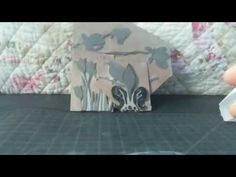 Mixed Media Lino, Hand Carved Stamps - YouTube