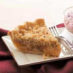 Cinnamon Apple Crumb Pie Recipe from Taste of Home