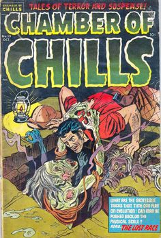 Comic Book Cover For Chamber of Chills Magazine #13