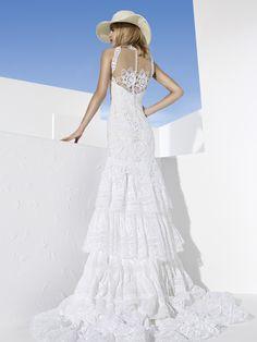 YolanCris | Vestidos de novia ibicencos y vestidos de novia hippie chic Baena