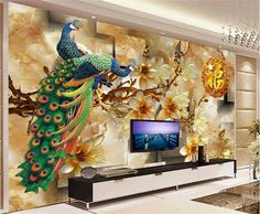 wallpaper in mumbai for living room wallpaper wholesalers in mumbai , wallpaper price wallpaper for walls price 3d Wall Murals, 3d Wall Art, Ceiling Design, Wall Design, Sky Ceiling, 3d Wall Painting, Tv Wall Decor, Wall Tv, 3d Wallpaper For Walls