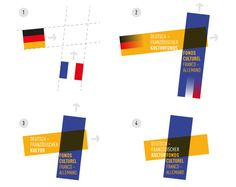 Franco-German Cultural Fund - Brand Identity by Graphéine    , via Behance