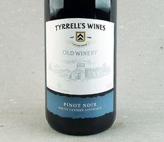 Seguindo para a Austrália: Tyrrell's Old Winery Pinot Noir #vinho #pinotnoir #australia #tyrrells #oldwinery