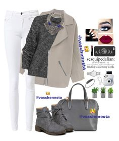 """""""Untitled #593"""" by loo0oove-16 ❤ liked on Polyvore featuring Acne Studios, Belstaff, Valextra, DANNIJO, Daniela Villegas, Marc by Marc Jacobs, NARS Cosmetics and Casetify"""