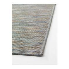IKEA - HODDE, Tapete, tecelagem plana, 200x300 cm, , Feito em fibras sintéticas…