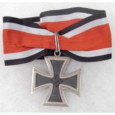 The Knight's Cross of the Iron Cross was the highest German military award during WW2 and was given to recognize extreme valour or outstanding military leadership. There were five grades of the award; the Knight's Cross of the Iron Cross with Oak Leaves was the grade above the basic award. Eighteen members of the Brandenburg Regiment were awarded the Knight's Cross of the Iron Cross (three with oak leaves).