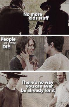 the walking dead fan art | The Walking Dead .. No more kids stuff .. by Th3Sharingan on ...