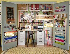 20 Crafty Workspace Storage Ideas From Ikea