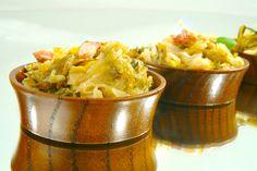 Kapusta zasmażana Macaroni And Cheese, Grains, Rice, Ethnic Recipes, Food, Essen, Mac And Cheese, Yemek, Jim Rice
