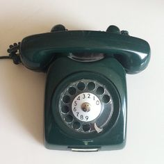 1960s Ericsson Dialog Telephone Green, Wow things have changed..