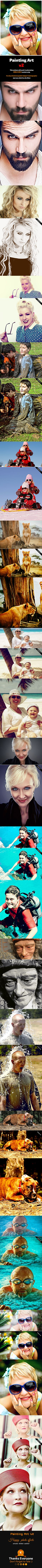 Painting Art V2 by hazratali2020.deviantart.com on @DeviantArt