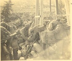 Fallschirmjägers en Crête en 1941.