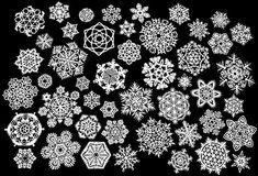 Creare i fiocchi di neve | DidatticarteBlog http://www.didatticarte.it/Blog/?p=1633