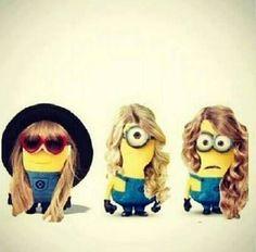 Taylor swift minion!!!!!! OH MY GOSH!!!