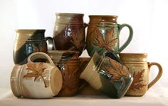 Hannah's Pottery     My favorite coffee mug!