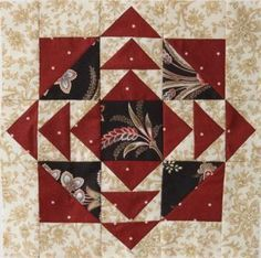 American Patchwork & Quilting® 2012 Mystery Quilt BLOCK 6| AllPeopleQuilt.com
