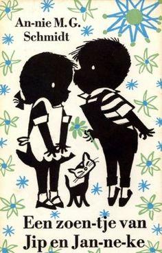B৲( °৺° )৴K                                                           Classic Dutch Vintage Childrens Book Jip and Janneke by Annie MG Schmidt