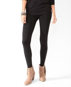 Essential Knit Legging. Forever21    I really need to get me some leggings!