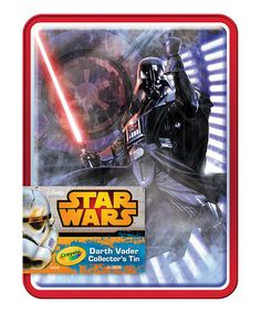 Look what I found on #zulily! 64-Ct. Crayons & Darth Vader Collectible Tin #zulilyfinds