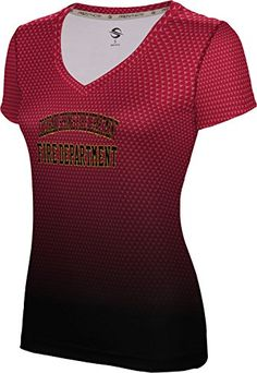 ProSphere Womens Colorado Springs Fire Department Zoom SL VNeck Training Tee -- You can find out more details at the link of the image.