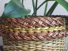 Мастер-класс Поделка изделие Плетение Двойная загибка Трубочки бумажные фото 1