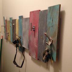 pallet coat hanger - Google Search