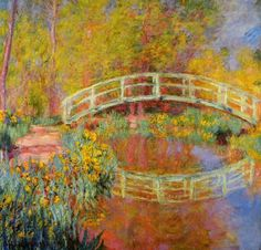 Monet, The Japanise Bridge