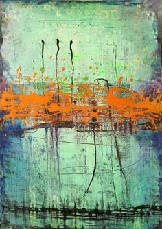 Art Painting Canvas painting ORIGINAL ABSTRACT by ColorMind