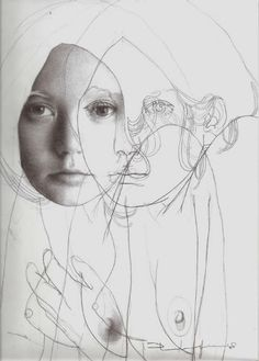 Martín Palottini aka Martín Javier Palottini (Argentinian, b. Buenos Aires, Argentina) - From series Straw from Wheat, Drawings: Pencil on Paper Life Drawing, Drawing Sketches, Painting & Drawing, Art Drawings, Art Et Illustration, Illustrations, A Level Art, Inspiration Art, Ap Art
