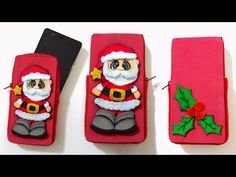 Santa christmas phone cases DIY - crafts for christmas - Isa ❤️ Santa Christmas, Christmas Crafts, Diy Phone Case, Phone Cases, Dyi Crafts, Big Shot, Youtube, Smartphone, Computers