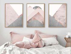 Pink Bedroom Decor You Can Try on Your Own - Modern Skandinavisch Modern, Modern Rugs, Modern Homes, Modern Classic, Modern Rustic, Trendy Bedroom, Modern Bedroom, Modern Closet, Home Bedroom
