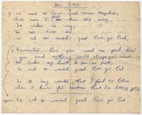 The Virtual Museum: George Harrison's Handwritten Everly Brothers Lyrics - Recordmecca