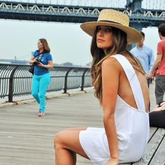 959b35b0836 Janessa Leone klint straw hat