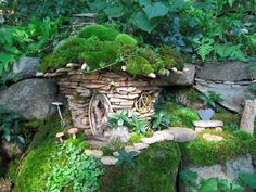 stone fairy cottage