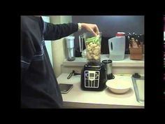 Banana celery cinnamon smoothie using a Shred Emulsifier high speed ...