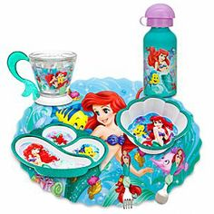 Disney Ariel Meal Time Magic Collection | Disney Store