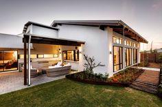 Diseño de fachada e interiores casa un piso | Construye Hogar